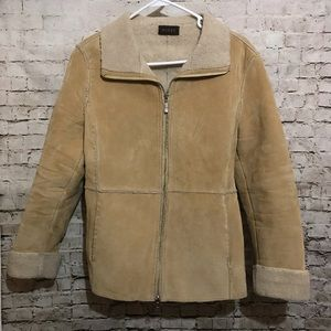 Guess suede brown jacket size medium